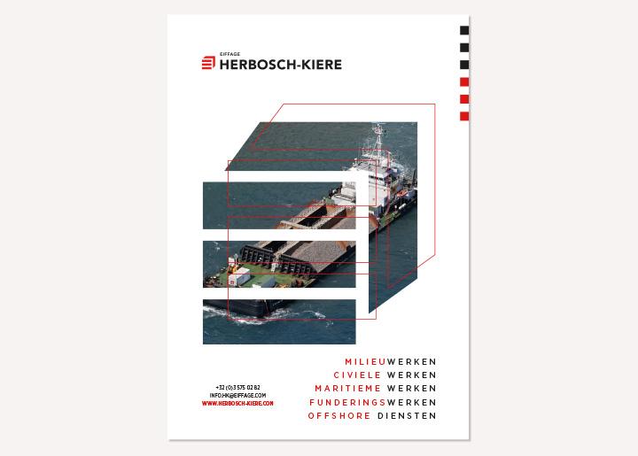 Ontwerp voorstel advertentie Herbosch-Kiere (mogelijk affiche) met foto verwerkt in vergroot logo contour 03