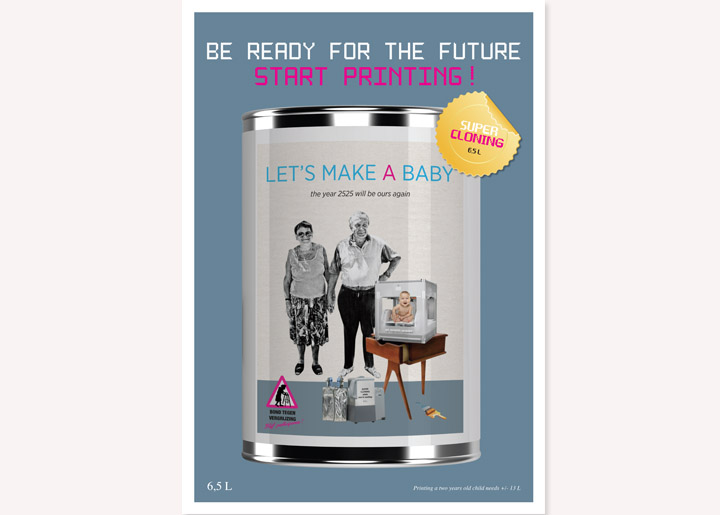'Be ready for the future, START PRINTING',  (2014)