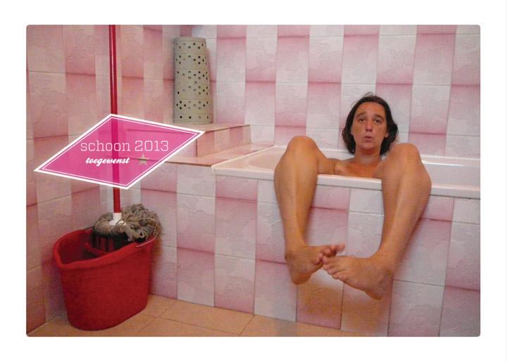 ontwerp & fotografie nieuwjaarskaart 'Schoon 2013'
